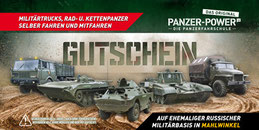 Vorlage Gutschein Panzer-Power zum Download bzw. Herunterladen