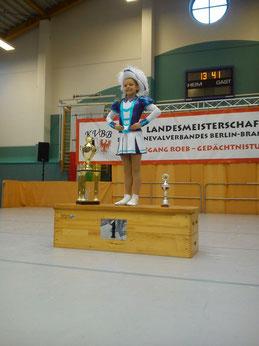 TM Karoline - Landesmeisterin 2014/2015