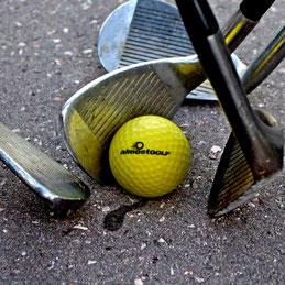 Club et balle street golf