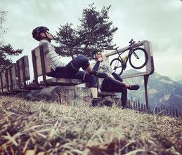 Nachdenken nach der Rennradtour