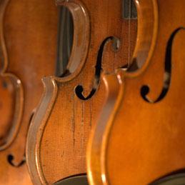 Reparatur von Geigen, Bratschen und Celli