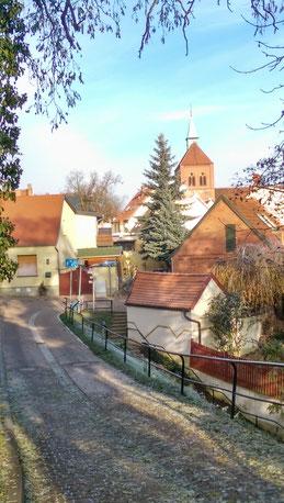 Alter Ortskern mit Kirche