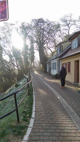 Straße zum Burgberg