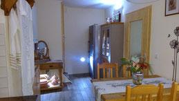 Essplatz im Küchenbereich