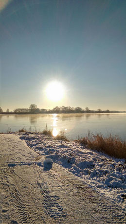 Winter in Arneburg