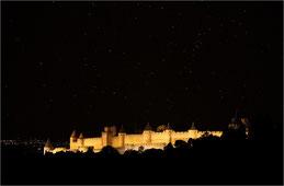 Nuit sur Carcassonne
