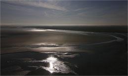 Les sables de la baie Saint- Michel