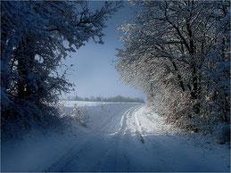 Sur la route du Père-Noël