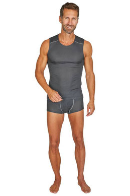VINZ silkwear Sportbasic Herren. Baselayer aus reiner Bio-Seide. Natürliche und nachhaltige Funktionsunterwäsche.