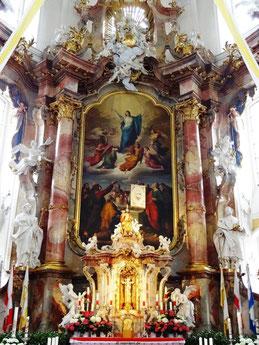 """Hochaltar """"Maria Himmelfahrt"""", Basilika Vierzehnheiligen"""