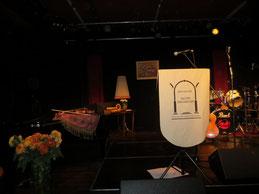 Die Bühne des Bocholter Salonorchesters