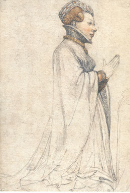 Dessin d' Hans Holbein (1424)