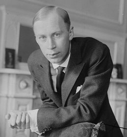 Sergej Prokofjew in New York ca. 1918, Fotograf unbekannt