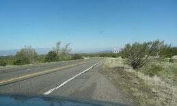 weiter auf der AZ-260 Richtung Camp Verde