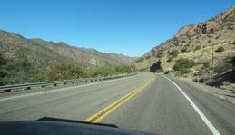 auf der AZ-80 Richtung Sierra Vista