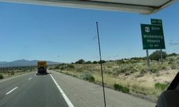 Interstate 40, Ausfahrt Phoenix