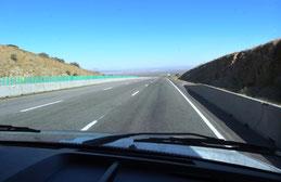 auf der US-70 nach Las Cruces
