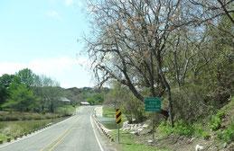 Guadalupe River zwischen Kerrville und Hunt