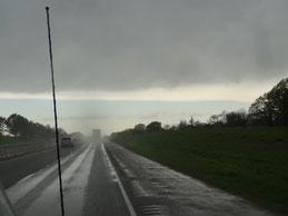 Auf der Interstate 30 nach Sulphur Springs