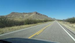 auf der AZ-82 Richtung Sonoita