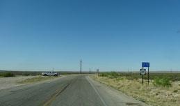 TX-137 Richtung Sitting Bull Falls