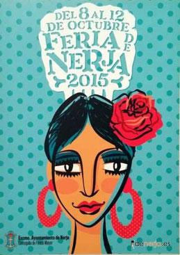 Feria de Nerja 2015 Cartel y Programa