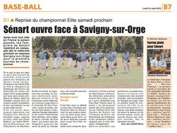 LA REP 23/03/2015 : Baseball