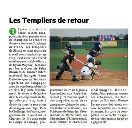 MEDIA SENART  Février 2015 : baseball