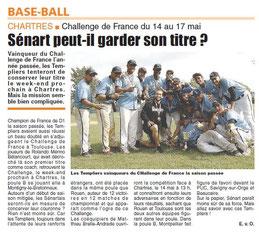 LA REP 11/05/2015 : BaseBall
