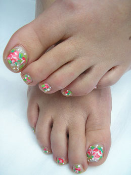 pedicure Gouda, Nail art op teennagels