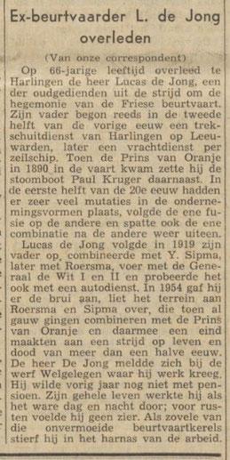 Nieuwsblad van het Noorden - 21-06-1961