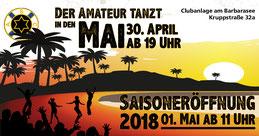 Facebook-Anzeige, Tanz in den Mai