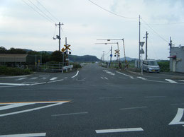 アクセス 交差点の写真