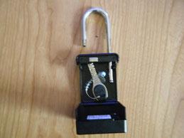 鍵を入れたキ-ボックスの写真