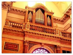 organo  Nicola Morettini del 1879