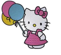 Hello Kitty mit Ballons