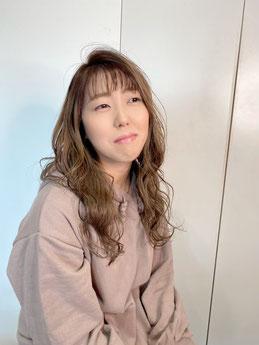 足立 規美世 高石 カット カラー パーマ オージュア 美容室 美容院 泉大津 鳳