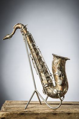 Saxo  Hauteur 34cm  Inox