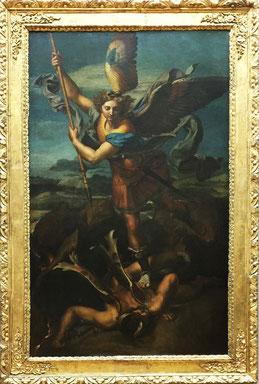Raphaël - Le Grand Saint Michel 1518 - Louvre