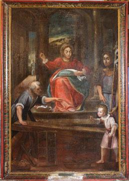 Rogliano- La Sainte Famille à l'atelier