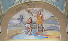 Calcatoggio- peinture monumentale