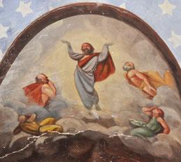 Corscia - Egl San Salvadore - Peinture monumentale