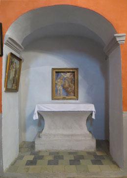 Poggio Mezzana - demi-relief peut-être d'Ignazio Saverio Raffalli