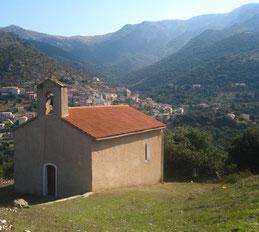 Pietralba Pedano chapelle de l'Annonciation et de Saint-Jean-Baptiste