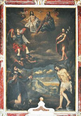 Speloncato- De Santis- Trinité St Michel Jean-Baptiste Roch & Sébastien