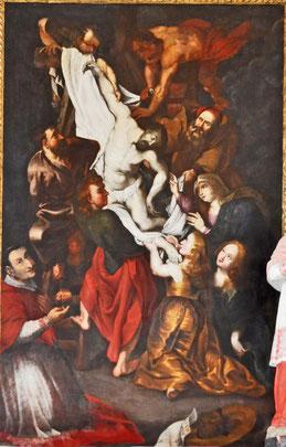 La déposition d'après Rubens