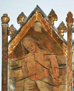 Cassano - l'Annonciation - Triptyque d'Antonio da Calvi - 1505