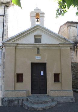 Canari - Chapelle St Jean-Baptiste à Chine