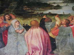 Marie et  les Apôtres