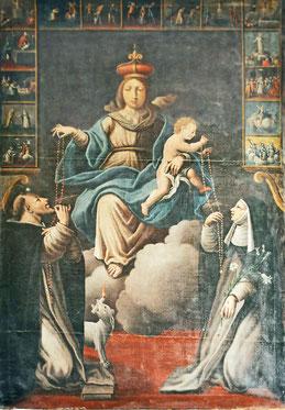 Urtaca - Egl de l'Annonciation - Donation du Rosaire Francesco Carli
